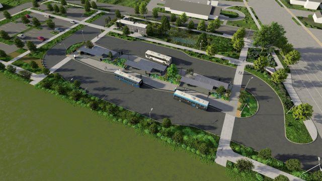 Santa Clara Transit Station Design