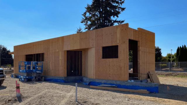 LTD restroom construction for Santa Clara Transit Station