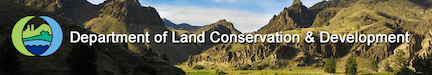 Header image for the Oregon Department of Land & Conservation Development