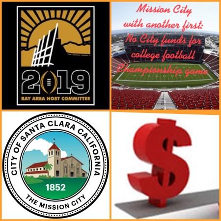 2019 College Football National Championship Santa Clara
