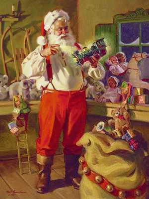 History of Santa Claus  Santa Claus Loves Christmas