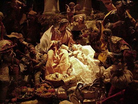Origin Of The Nativity Scene Santa Claus Loves Christmas