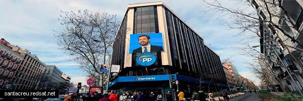Pablo Casado y el PP engaña cada vez menos a menos españoles