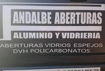 FANDALBE ABERTURAS DE ALUMINIO Y VIDRIERIA