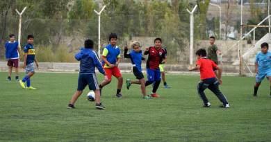 fútbol de los Barrios