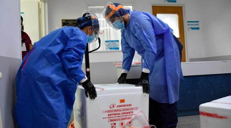 Más de cuatro mil dosis de la vacuna SinoPharm llegaran a Santa Cruz