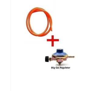 Gas Delivery Pipe And Free 6Kg Gas Cylinder Regulator