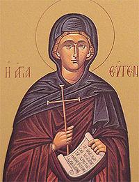Icono de Santa Eugenia