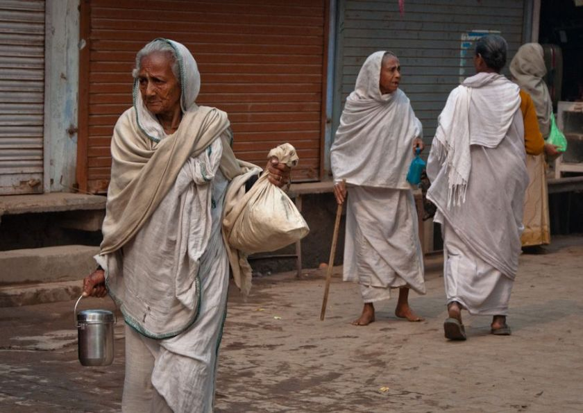 Viudas-Widows-Vrindavan-India
