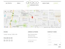 Ajiaco Contact Page