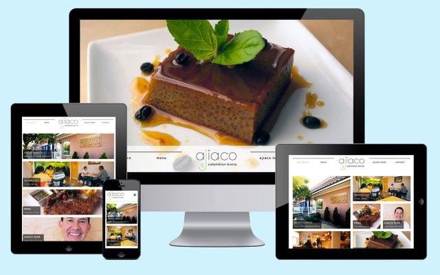 ajiaco responsive web design