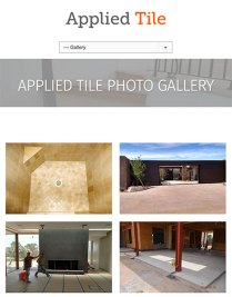Applied Tile Work Gallery Mobile Phase