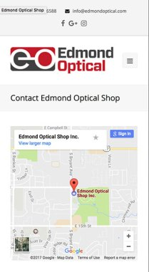 Edmond Optical Contact Mobile Phase