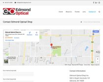 Edmond Optical Contact Page