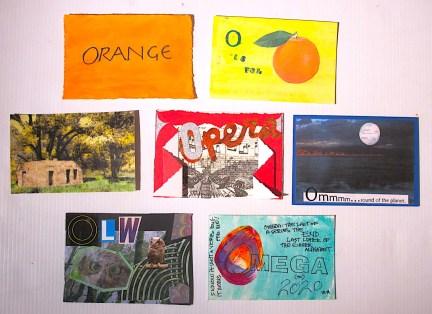 """O"" Postcards"