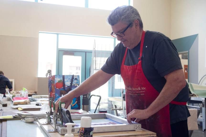 Screenprinting Workshops in Santa Fe