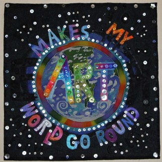 Art Makes the World Go Round by Judith Roderick