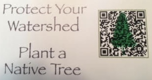 Mobile Device Scan Code for Watershed Brochure