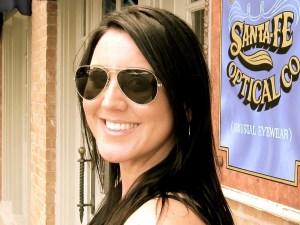 Sarah in RetroSpecs