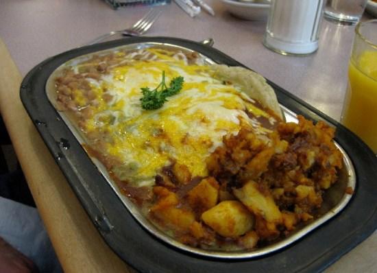 Breakfast in Santa Fe.