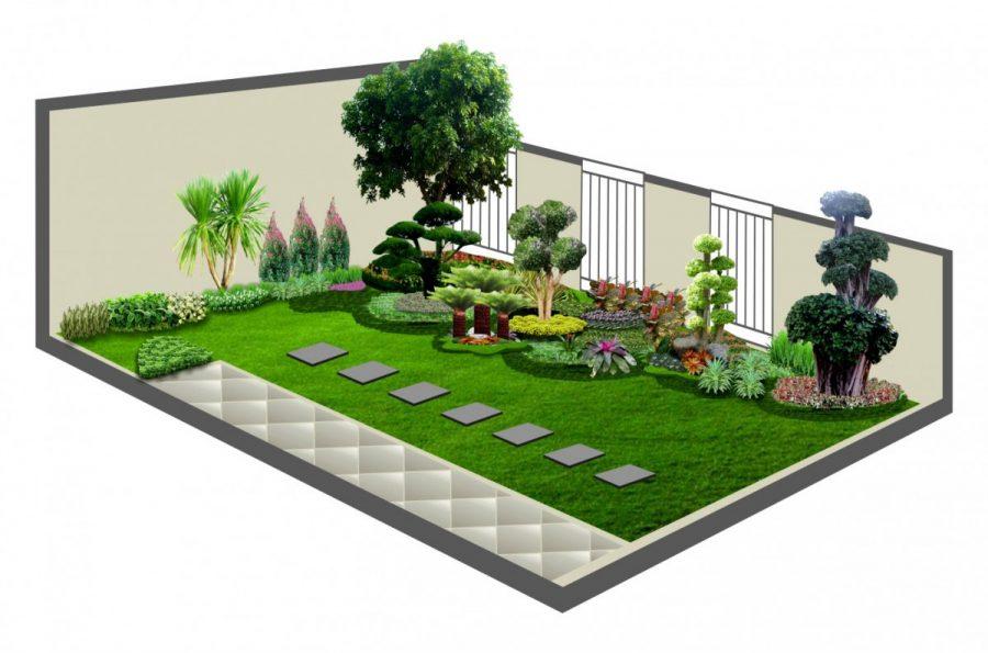 65+ Desain Taman Minimalis, Simpel, Sederhana, Dan Mudah Dibuat