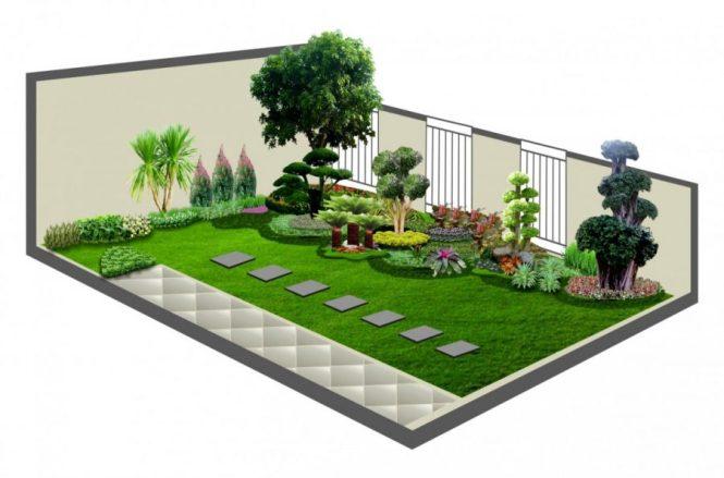 57 Koleksi Desain Taman Rumah Halaman Luas Gratis Terbaik