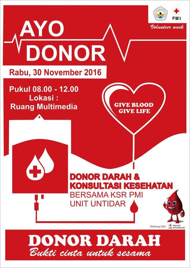contoh pamflet donor darah