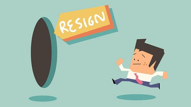 contoh surat pengunduran diri jabatan