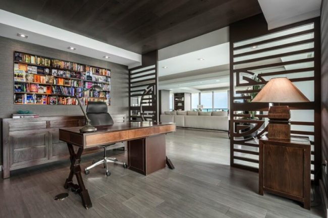 Wonderful 12x12 home office design #Deskideas #Smallofficeideas #Officedecoratingideas #Homeofficedecor