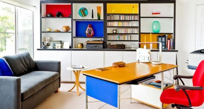Awesome workspace ideas for home offices #Deskideas #Smallofficeideas #Officedecoratingideas #Homeofficedecor