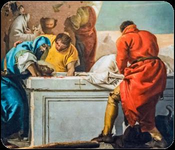 Décima Quarta Estação - Jesus é Sepultado