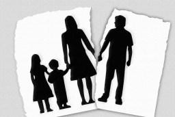 divórcio fortalece a ideia de que os filhos atrapalham