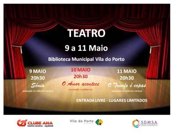 Teatro em Santa Maria