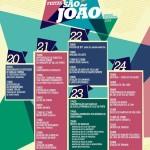 Festas de São João 2014 – Programa