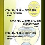 Andebol G. D. de São Pedro 1º jogo oficial