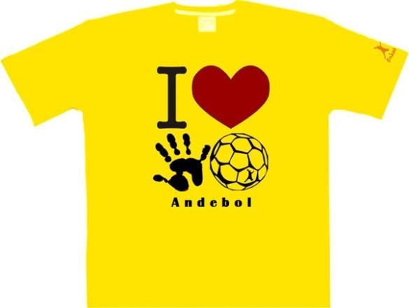 Andebol-T-shirt-amarela