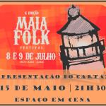Apresentação do X FESTIVAL MAIA FOLK