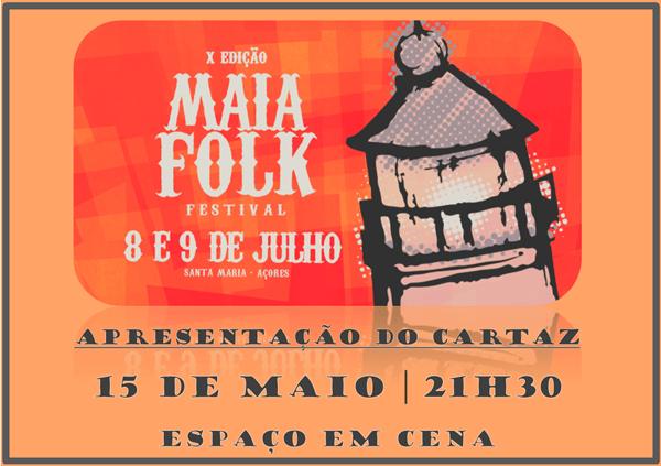 X EDIÇÃO MAIA FOLK - CONVITE
