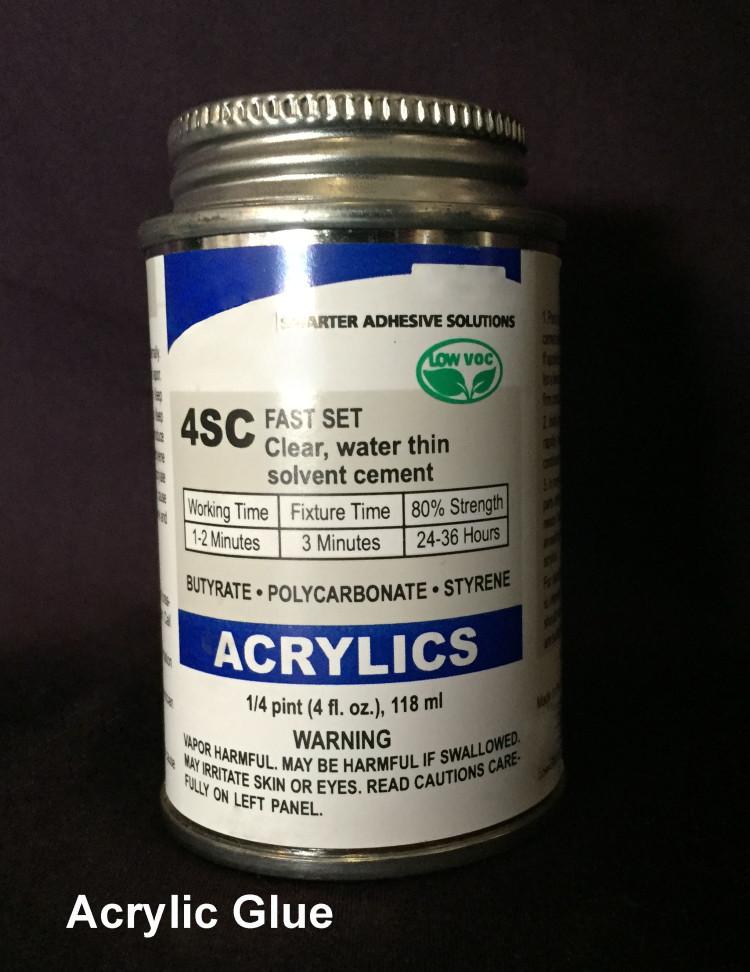 Acrylic Cement Glue (4oz)