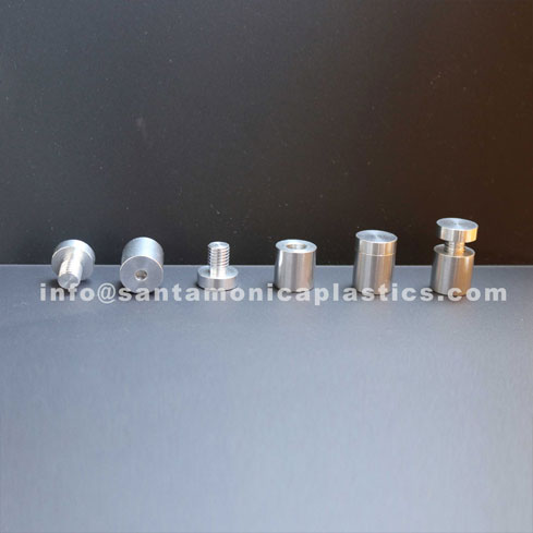 "Aluminum Standoffs #4 Size 0.75"" X 1"" (4 Pieces)"