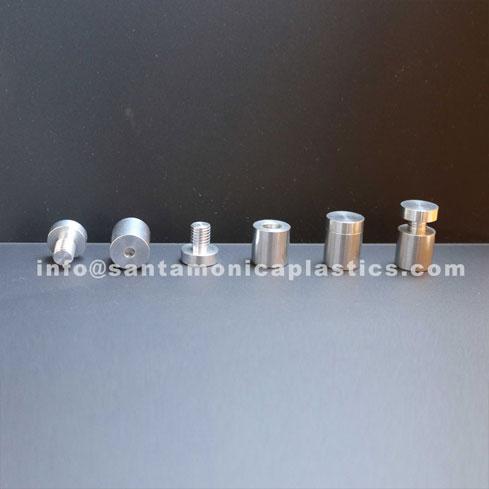 "Aluminum Standoffs #4 Size 0.75"" X 1"" (4 Pieces)"