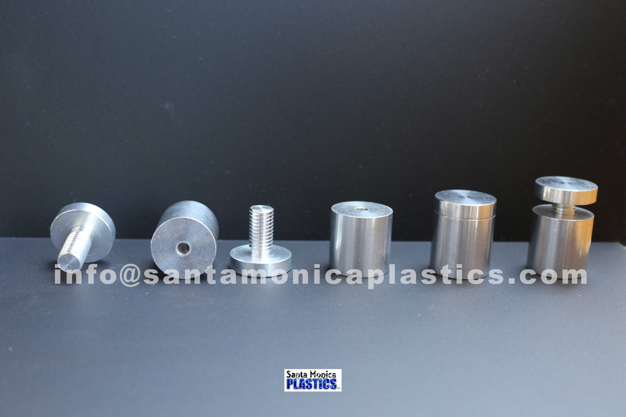 "Aluminum Standoffs #8 Size 1"" X 1.25"" (4 Pieces)"