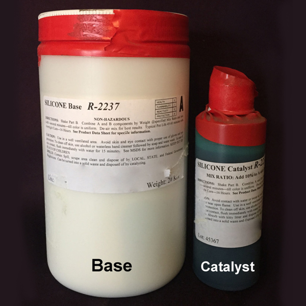 #2237 Silicone Base With Silicone Catalyst (Qt)