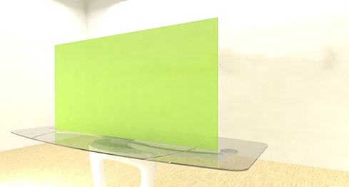 Acrylic Sheets – Cut To Size –  Fluorescent Green – S9093