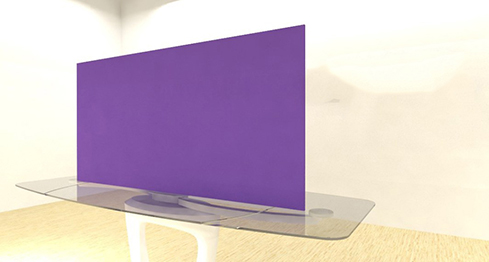 Acrylic Sheets – Cut To Size –  Opaque Violet Purple – S826