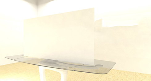 Acrylic Sheets – Cut To Size –  Opaque White – 7328