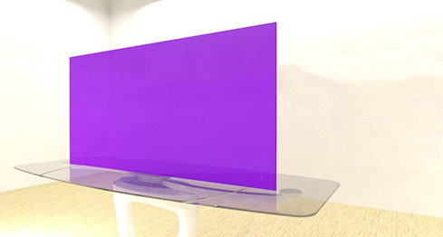 Acrylic Sheets – Cut To Size –  Translucent Amethyst Purple – S137