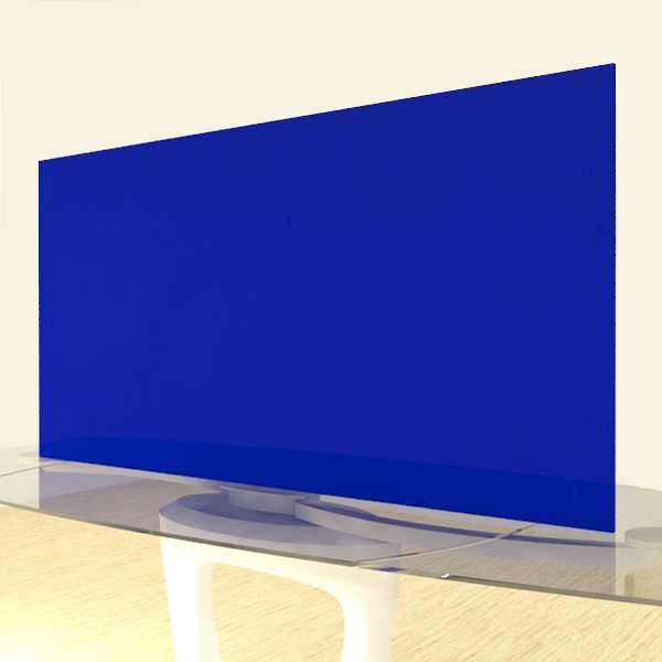 Acrylic Sheets – Cut To Size – Opaque Navy Blue  – S2051