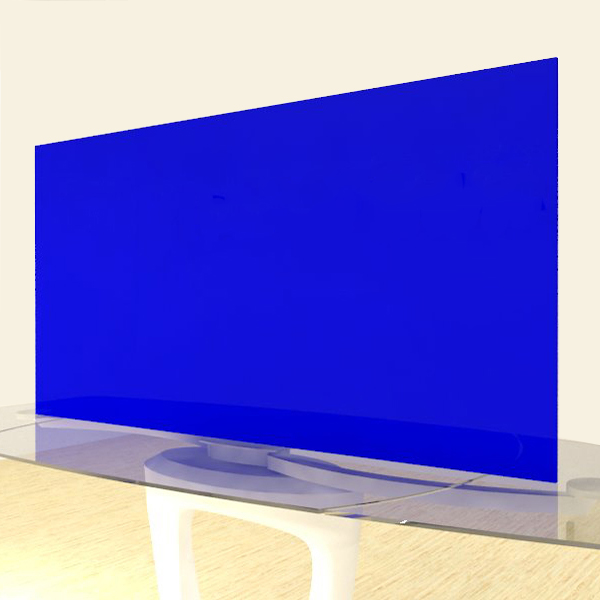 Acrylic Sheets – Cut To Size – Opaque Light Egyptian Blue – S2114