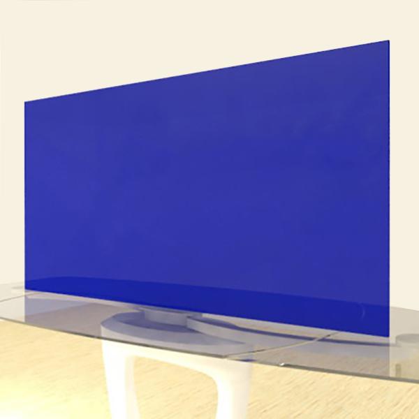 Acrylic Sheets – Cut To Size – Transparent Cobalt Blue – S2424